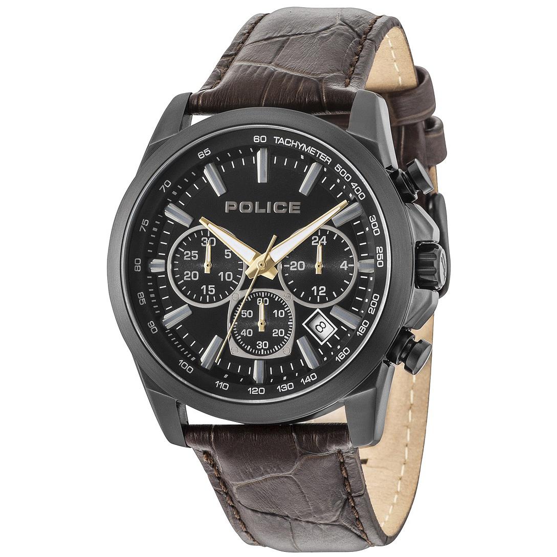 POLICE(ポリス)腕時計GRAMERCY グラマシー ブラック【14964JSB-02A】