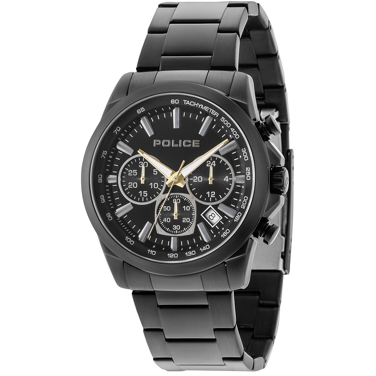 POLICE(ポリス)腕時計GRAMERCY グラマシー ブラック【14964JSB-02MA】