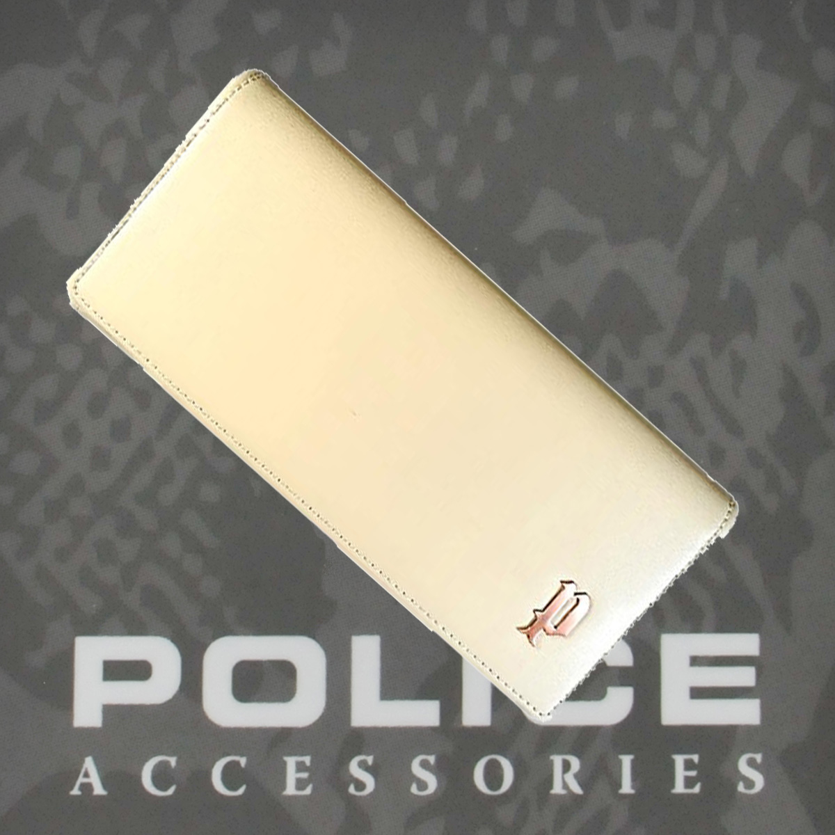 POLICE 長財布  SEMPLICE アイボリー【PA-59002-49】