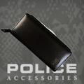 POLICE 長財布 SEMPLICE ファスナー ブラック【PA-59003-10】