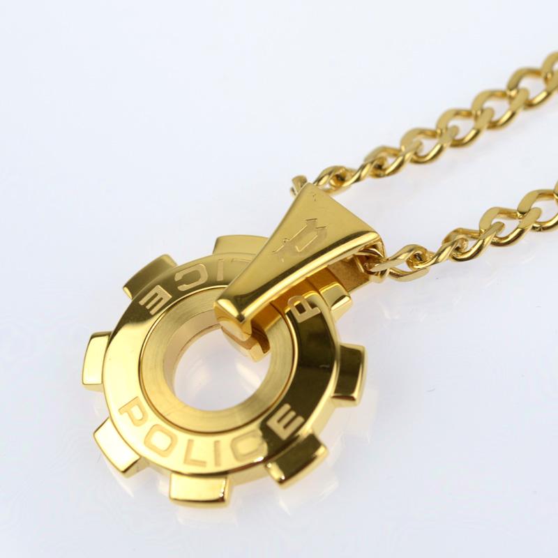 POLICE(ポリス)ネックレス 限定 REACTOR  ゴールド