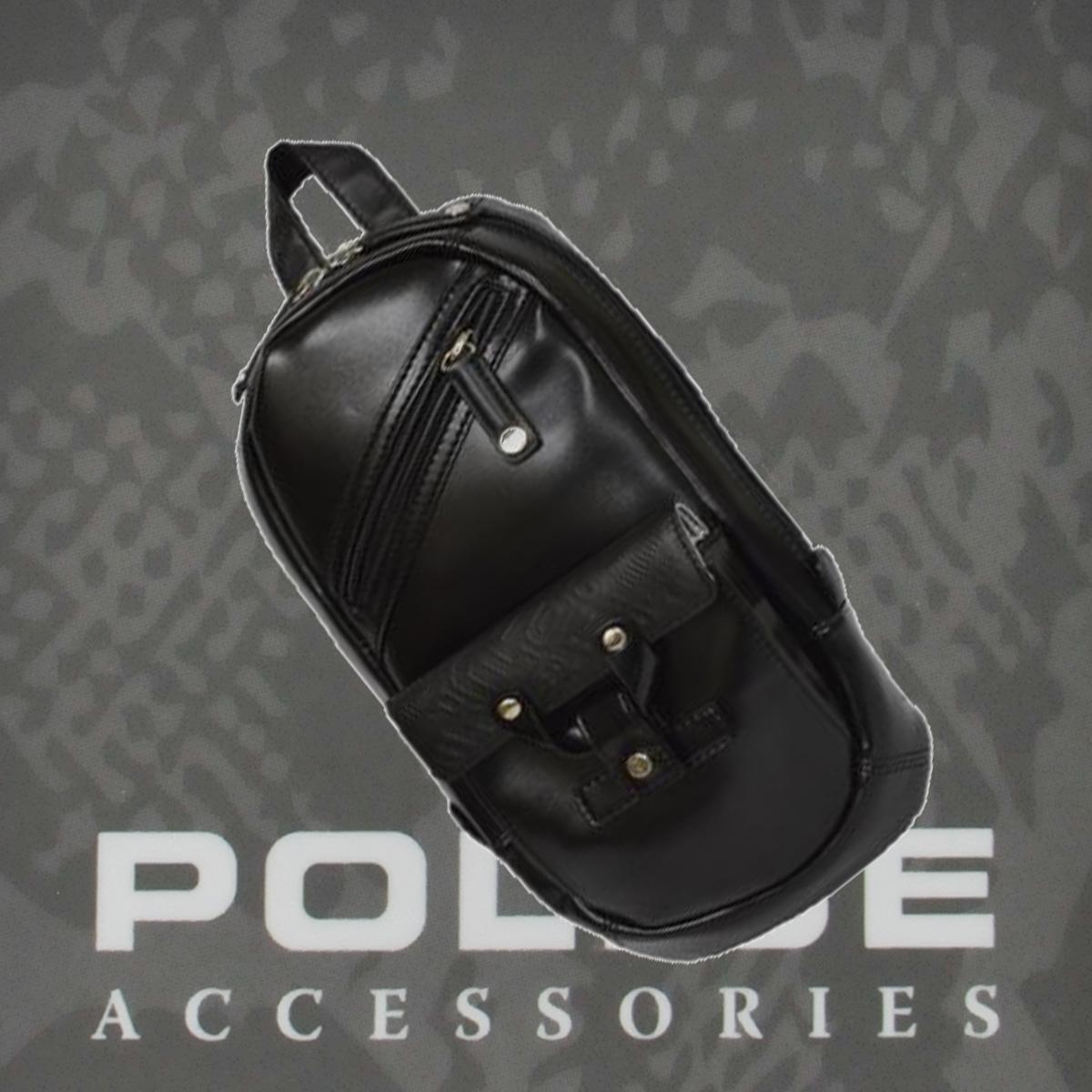 POLICE(ポリス)バッグ  DELIGHTⅡ ブラック【PA56310-10】