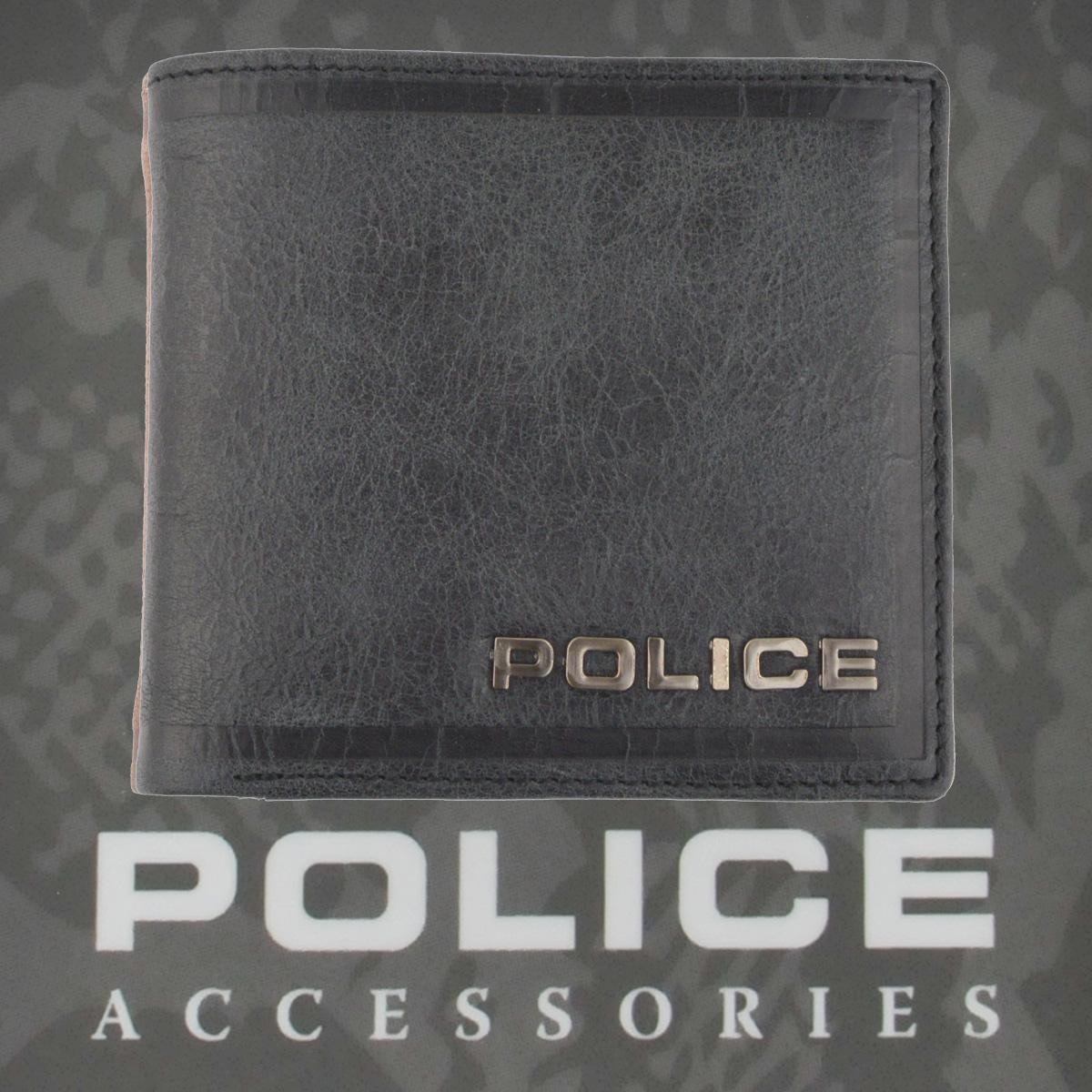 POLICE   財布 二つ折り EDGE ブラック【PA-58000-10】