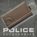 POLICE(ポリス)BASICⅡ キーケース ダークブラウン【PA-55600-29】