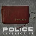 POLICE(ポリス)TERAIO キーケース ブラウン【PA-70000-29】