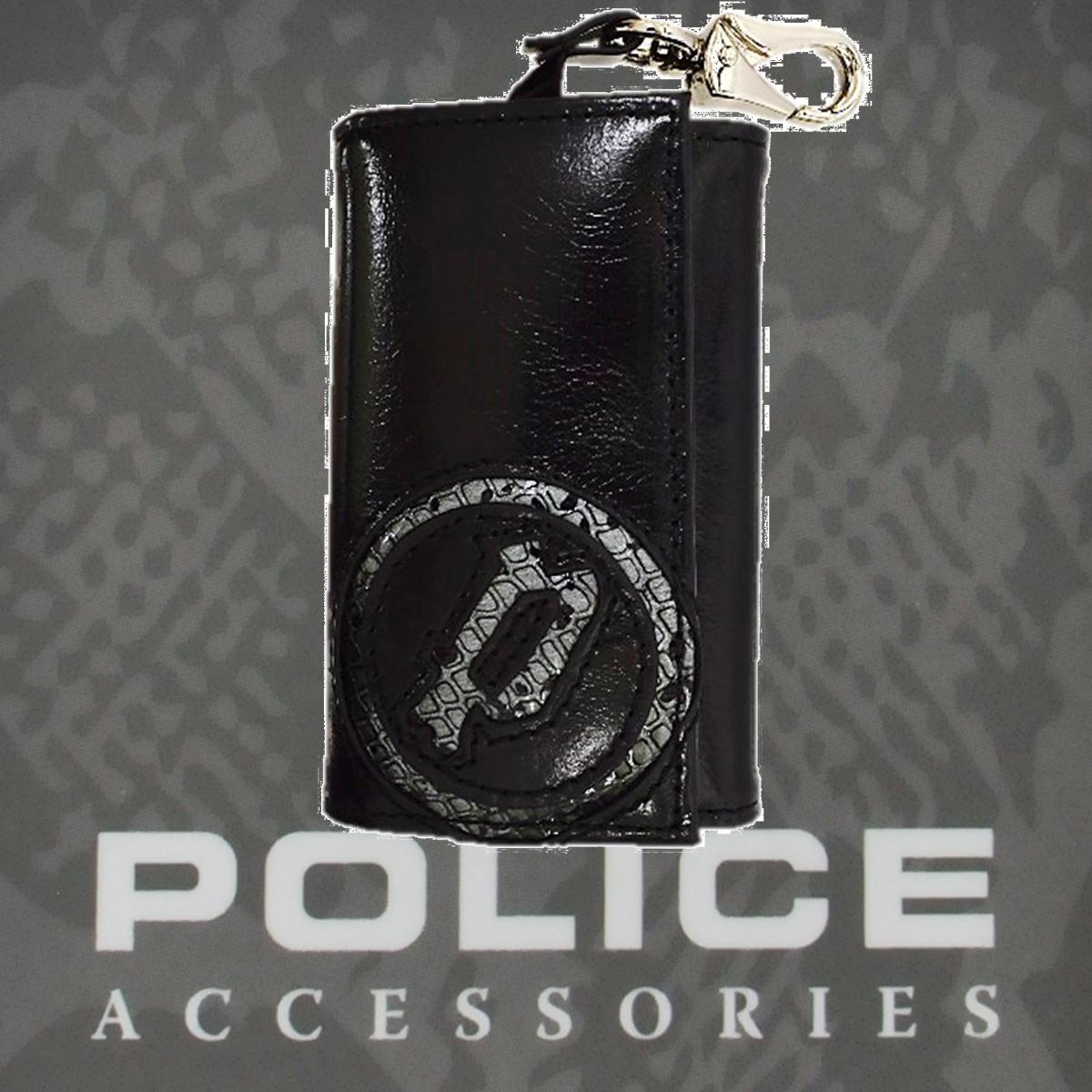 POLICE(ポリス)EVEN キーホルダー ブラック【PA-55500-10】
