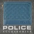 POLICE   財布 二つ折り MESH  グリーン【PA-57001-35】