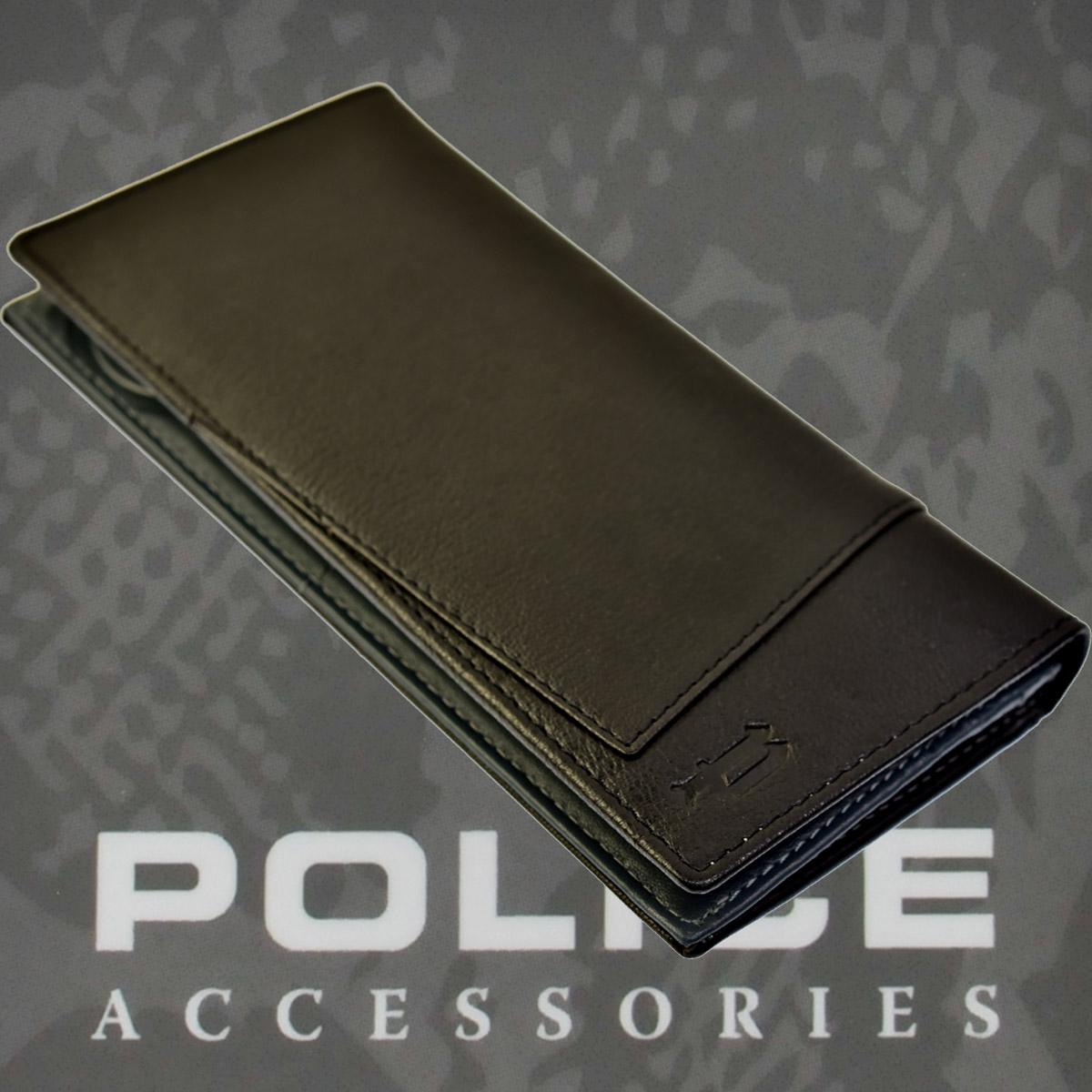 財布 メンズ ポリス TIPICOブラック【PA-59702-10】