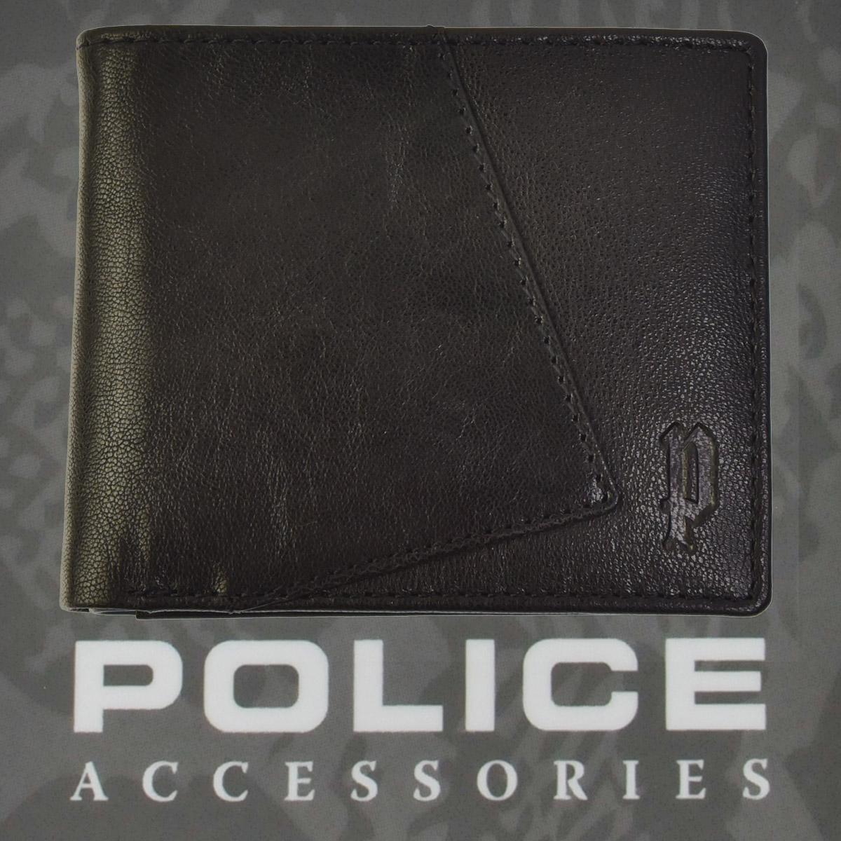 財布 メンズ ポリス 二つ折り TIPICO  ブラック【PA-59701-10】