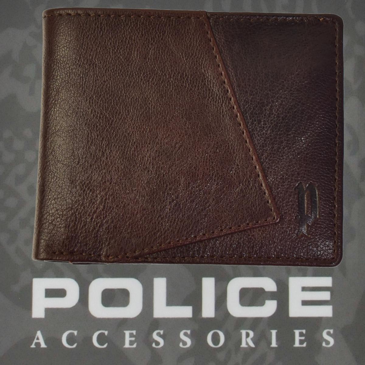 ポリス 財布 二つ折り TIPICO  ブラウン【PA-59701-29】
