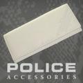 POLICE(ポリス)AXELⅢ 長財布 アイボリー【PA-56702-49】