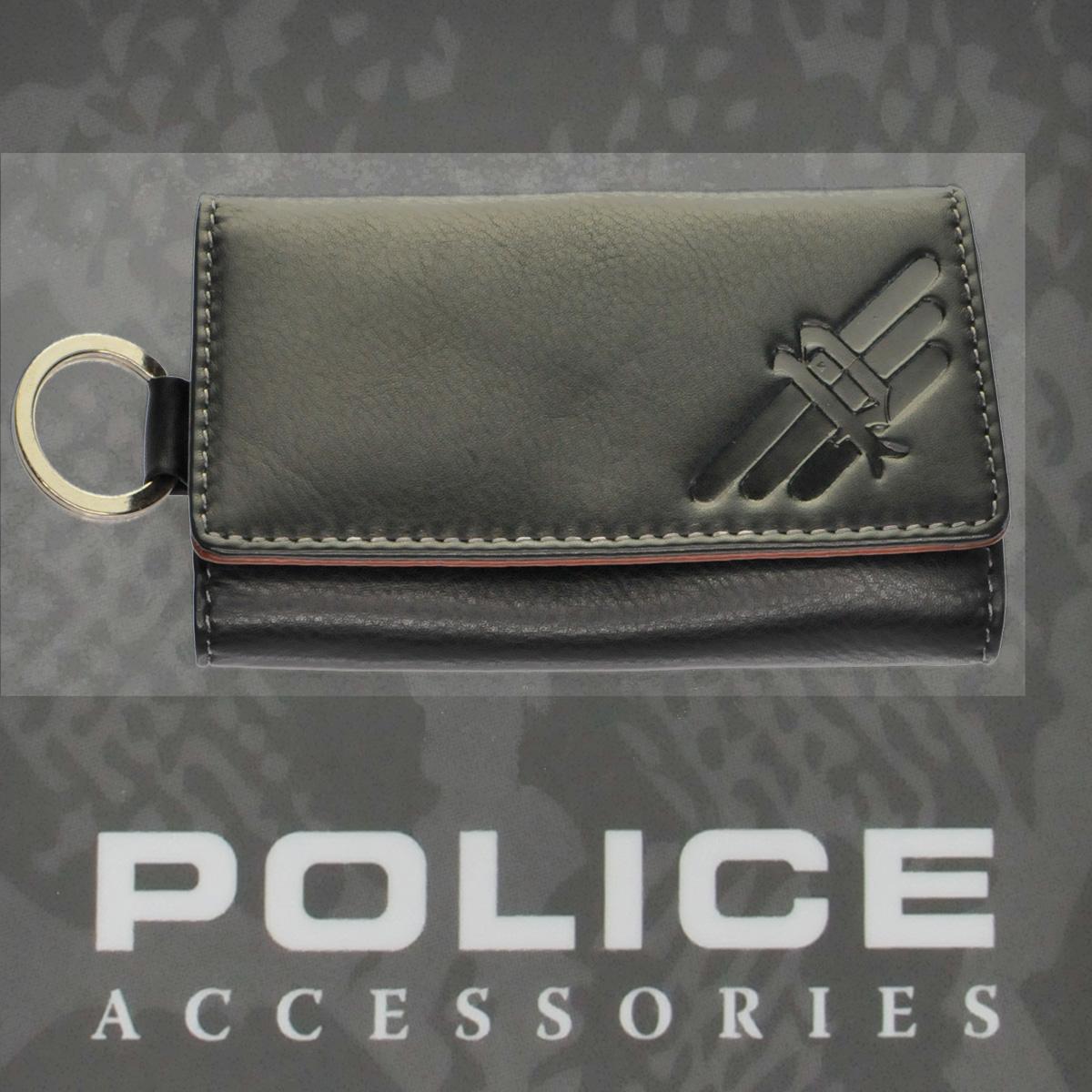 POLICE(ポリス)AXELⅢ キーケース ブラック【PA-56700-10】