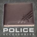 POLICE(ポリス)AXELⅢ 二つ折り財布 ブラウン【PA-56701-29】