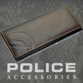 POLICE 財布 長財布 BASICⅡ  ダークブラウン【PA-55603-29】