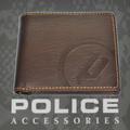 POLICE(ポリス)BASICⅡ 二つ折り財布 ダークブラウン【PA-55602-29】