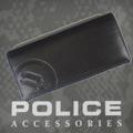 財布 メンズ POLICE BASICⅡ 長財布 ブラック/ブルー【PA-55603-15】