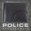 POLICE(ポリス)BASICⅡ 二つ折り財布 ブラック【PA-55602-10】