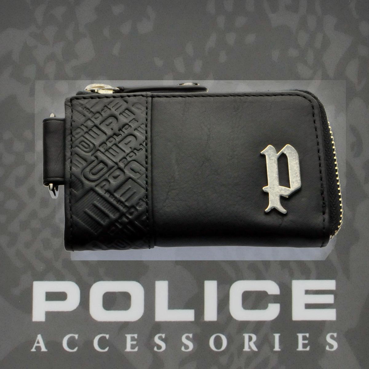 POLICE(ポリス)CIRCUIT コインパース ブラック【PA-56101-10】