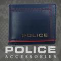 ポリス 財布 二つ折り COLORS  ブルー【PA-58400-50】