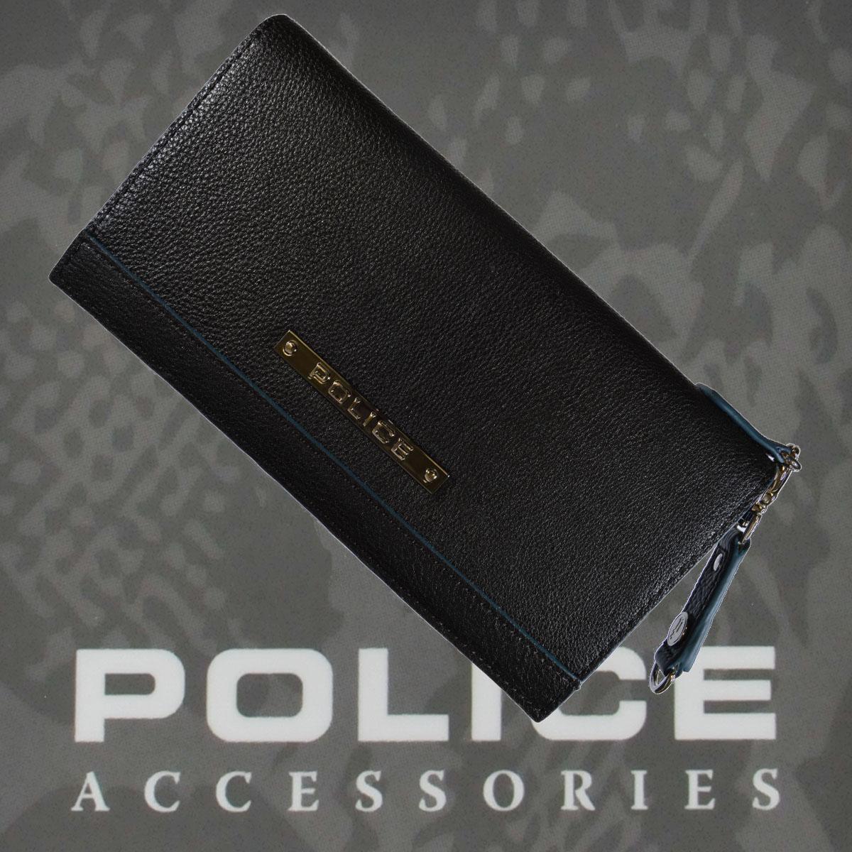 財布 メンズ ポリス  MODEST  ブラック【PA-58501-10】