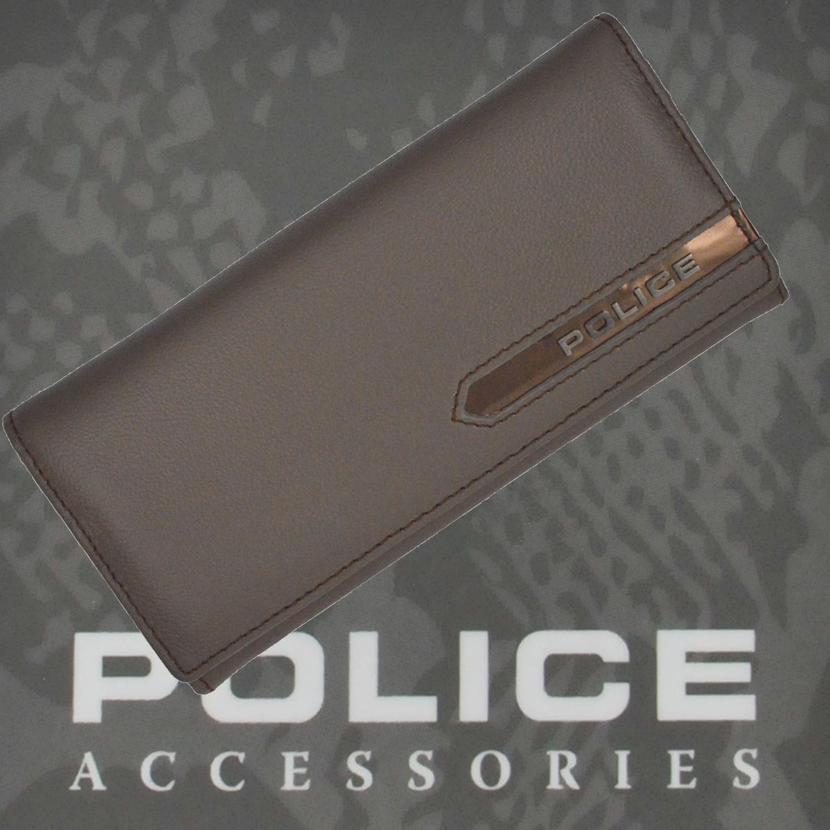 POLICE 長財布 METALLIC グレイ【PA-56901-60】