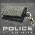 POLICE(ポリス)MONOGRAMⅡ キーケース ブラック【PA-56500-10】