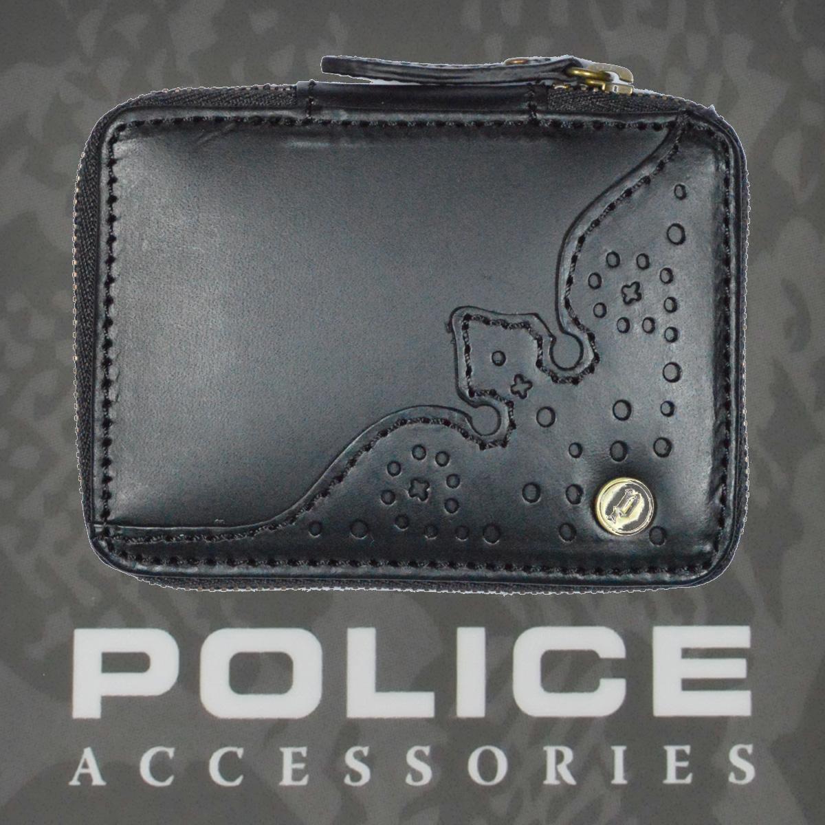 POLICE(ポリス)WINGTIP キーケース ブラック【PA-56800-10】