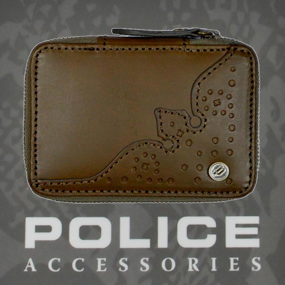 POLICE(ポリス)WINGTIP キーケース グリーン【PA-56800-35】