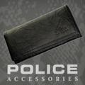 POLICE(ポリス)WRINKLE 長財布 ブラック【PA-56603-10】