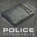 POLICE   財布 二つ折り ZIP ネイビー【PA-51021-50】