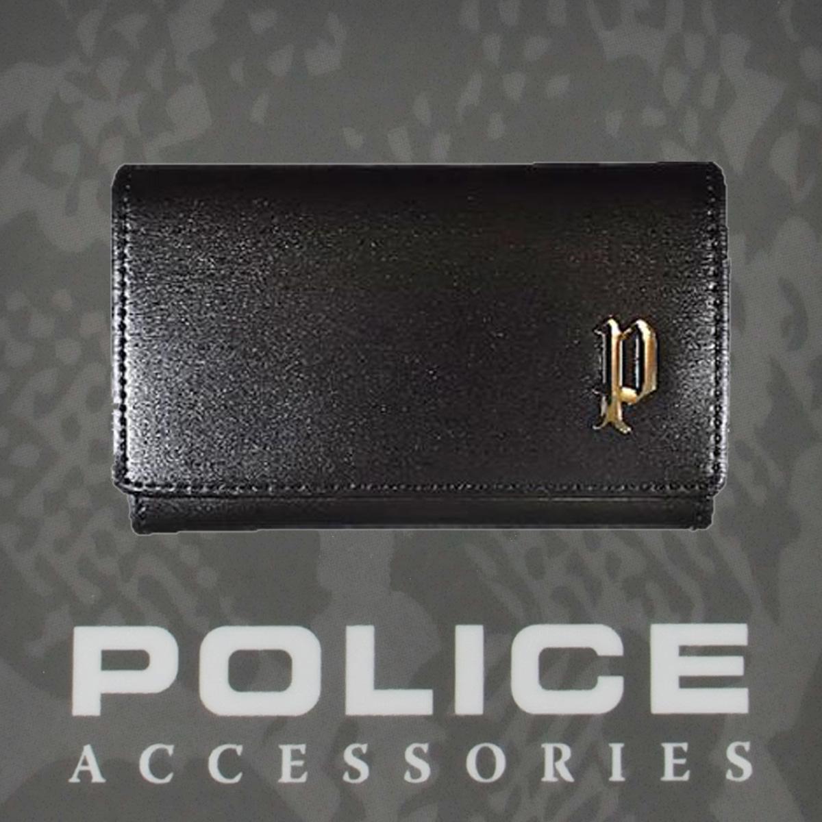 ポリス SEMPLICE  カード入れブラック【PA-59000-10】