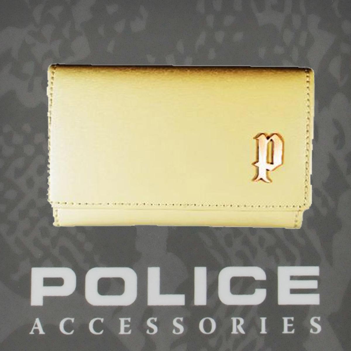 POLICE(ポリス) SEMPLICE カード入れ アイボリー【PA-59000-49】