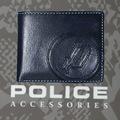 POLICE   財布 二つ折り  BASICⅣ  ネイビー【PA-59300-15】