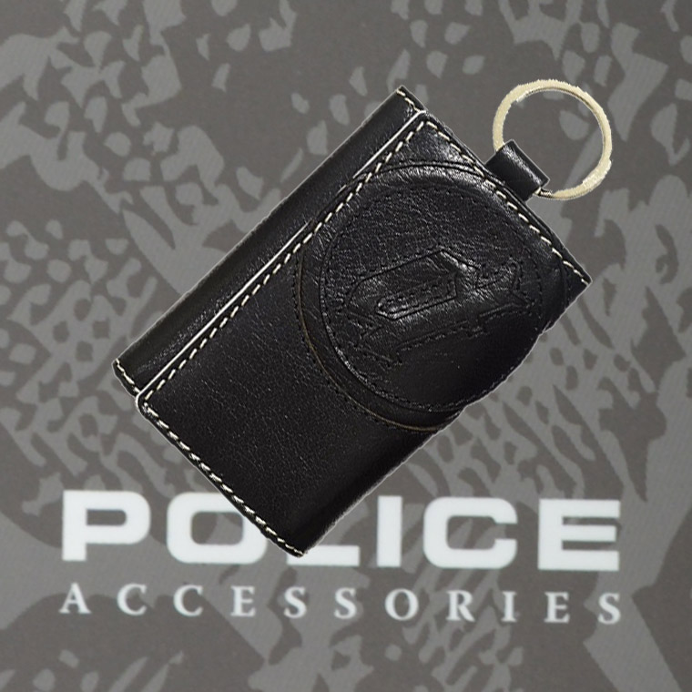 ポリス BASICⅣ  キーケース ブラック【PA-59303-10】
