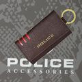 POLICE(ポリス)LINEA キーケース ダークブラウン【PA-59500-29】