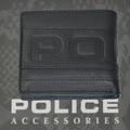 POLICE   財布 二つ折り METRO  ブラック【PA-58100-10】
