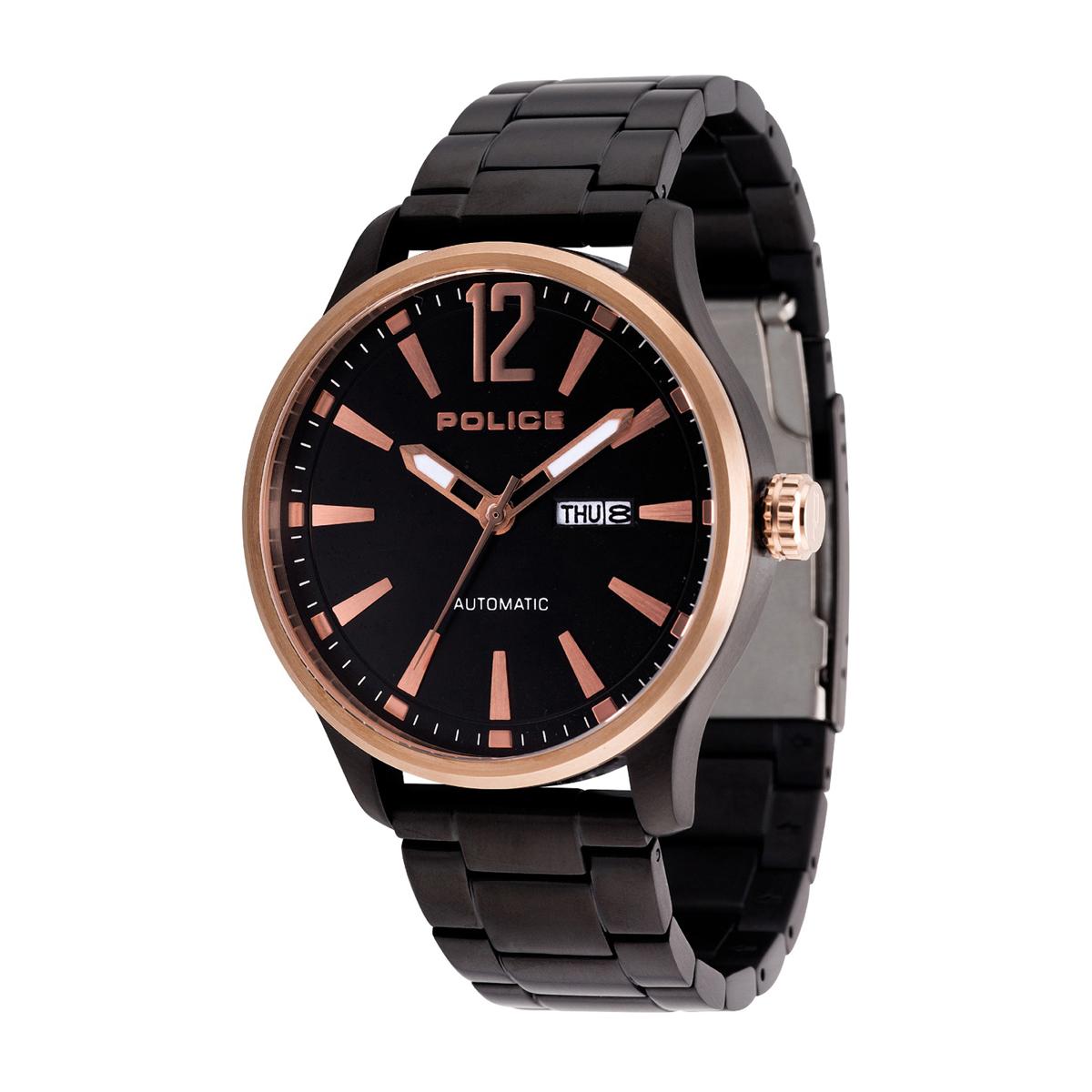 POLICE(ポリス)時計 PROTOCOL プロトコル ブラック【14840JSBR-02M】