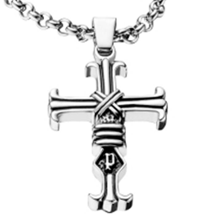 POLICE(ポリス)ネックレス 十字架FAITH【25709PSS01】