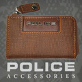 POLICE(ポリス)ADVANCE コインケース キャメル【PA-58201-25】