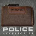POLICE(ポリス)ADVANCE コインケース チョコ【PA-58201-29】