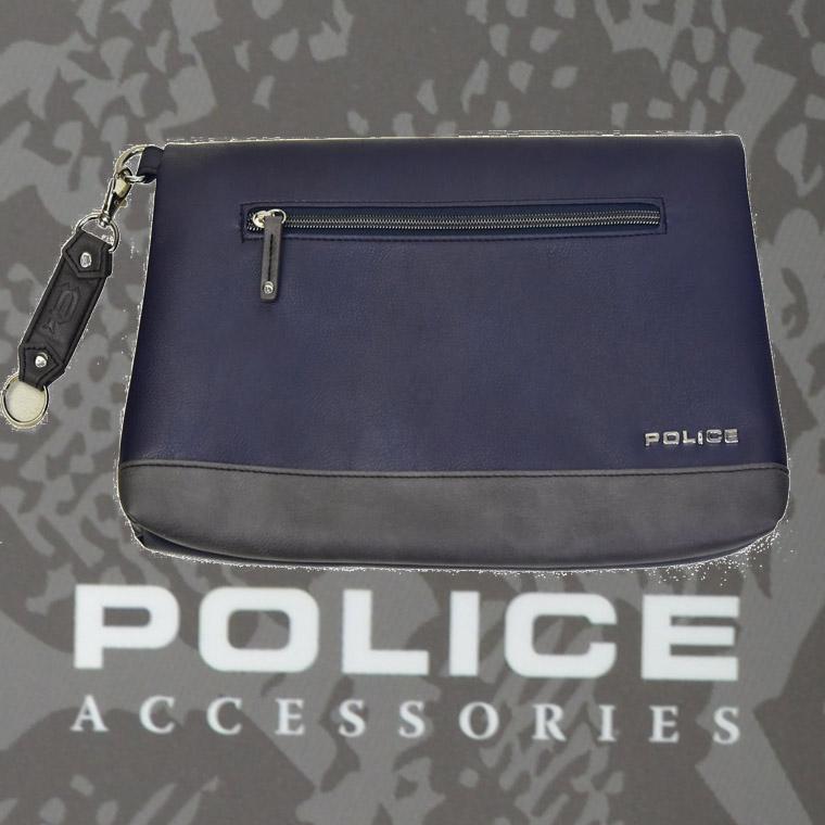 POLICE(ポリス) バッグ URBANO ネイビー/グレー【PA-62003-50】