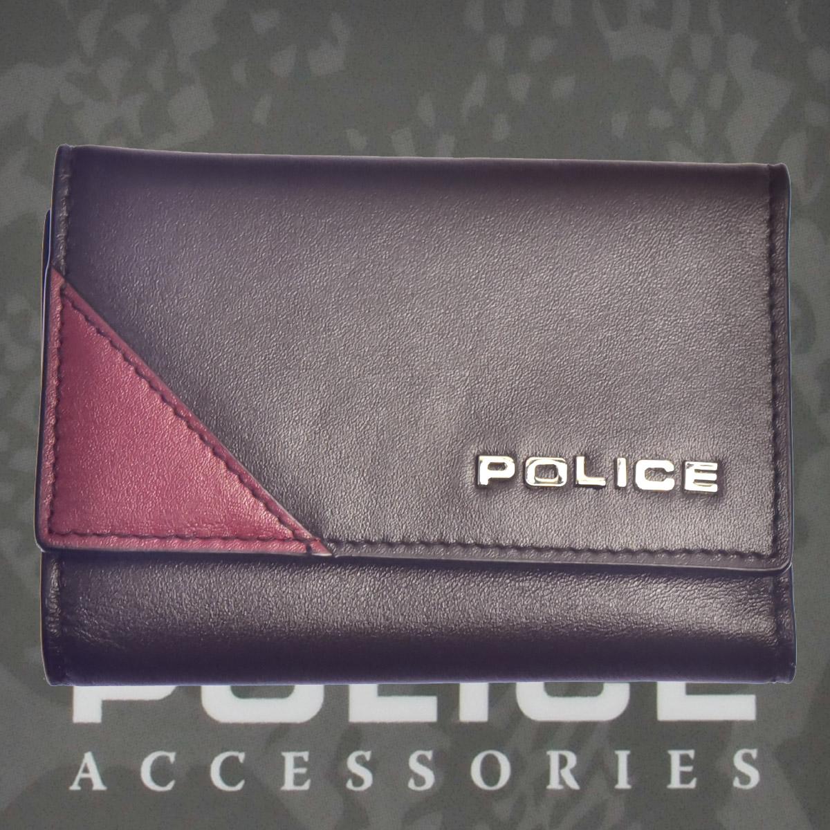 POLICE(ポリス)URBANOキーケース ブラウン【PA-70100-29】