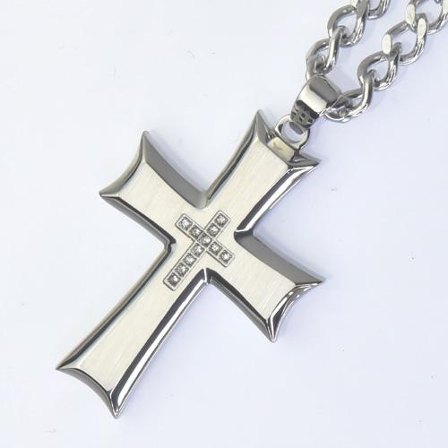【芸能人】POLICE(ポリス)十字架 ネックレス  ZEAL 【26160PSS】