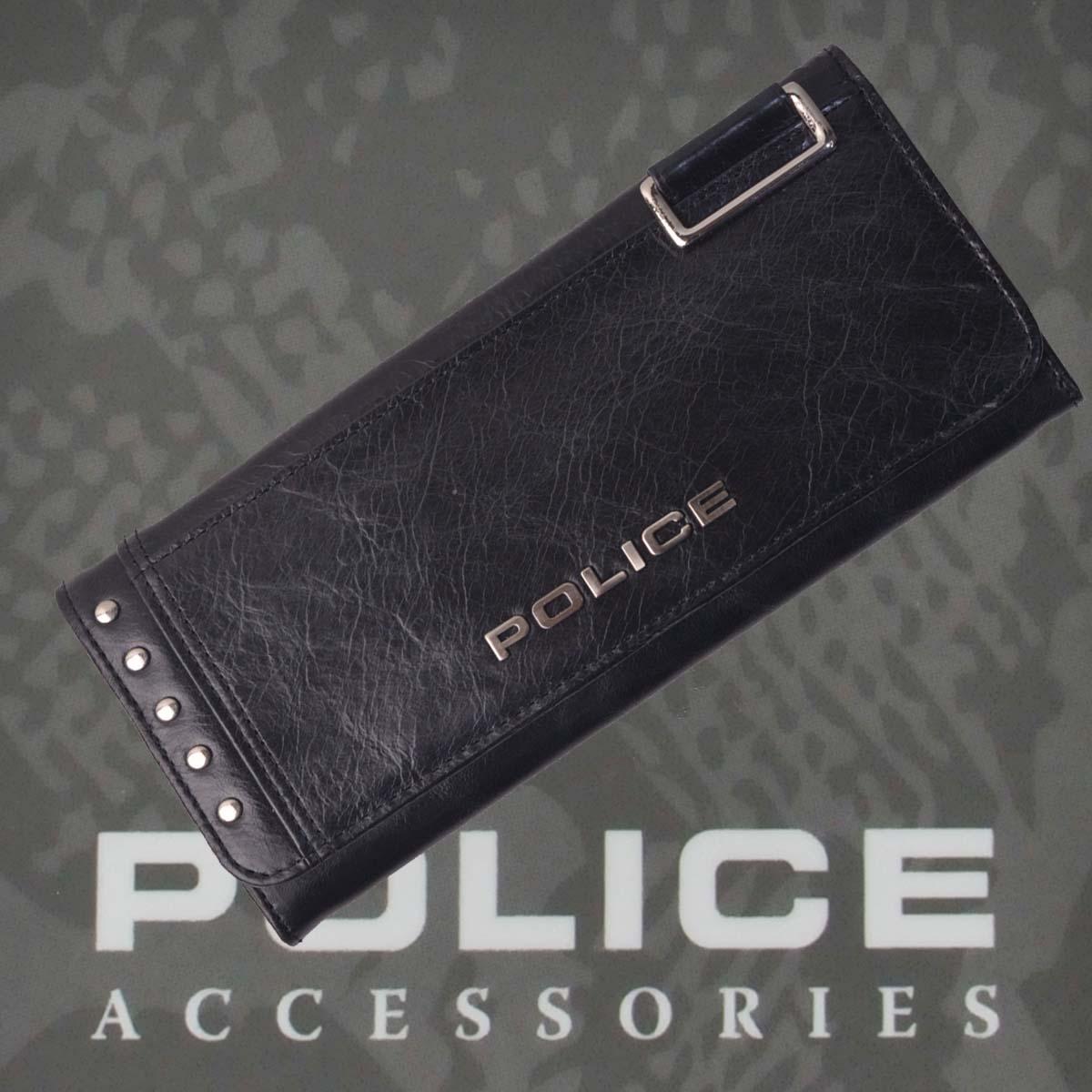 財布 メンズ ポリス Avoid Ⅱ  ブラック【PA-58603-10】