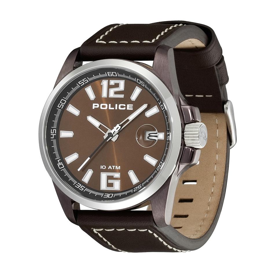 POLICE(ポリス)腕時計 LANCERランサー ブラウン【12591JVSBNS-65】