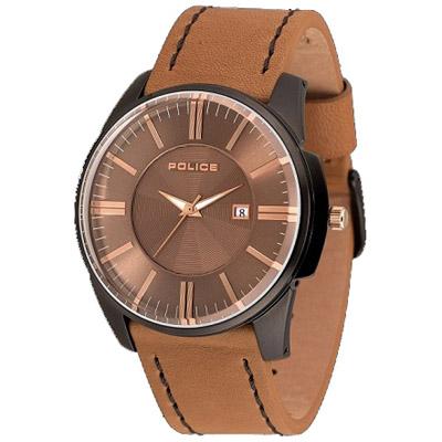 POLICE(ポリス)腕時計 GOVERNORガバナー ブラウン/カッパー【14384JSB-11】