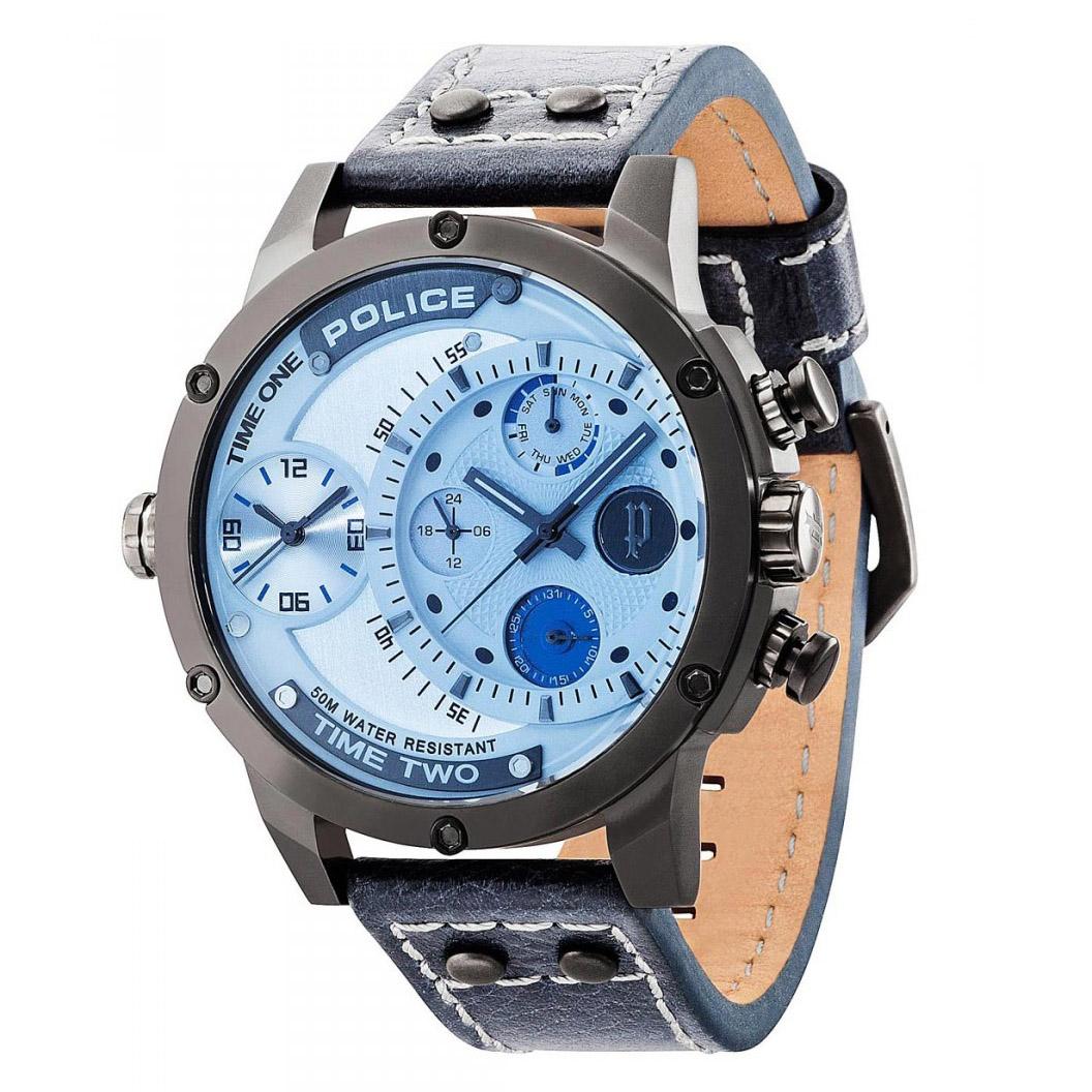 POLICE(ポリス)腕時計 ADDERアダー グレー/シルバー【14536JSU-13A】
