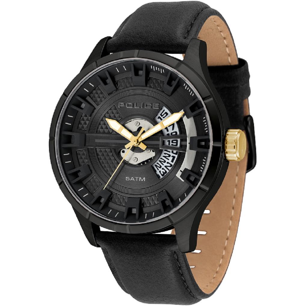 POLICE(ポリス)時計 MALLETマレット ブラック【14678JSB-02】