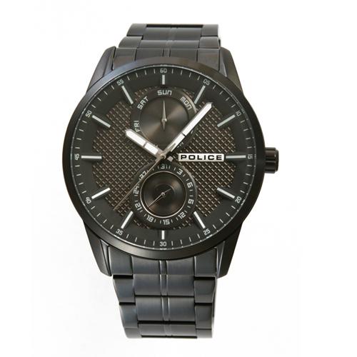 POLICE(ポリス)時計 BRANSON  ブラック/ブラック【15534JSB-61M】
