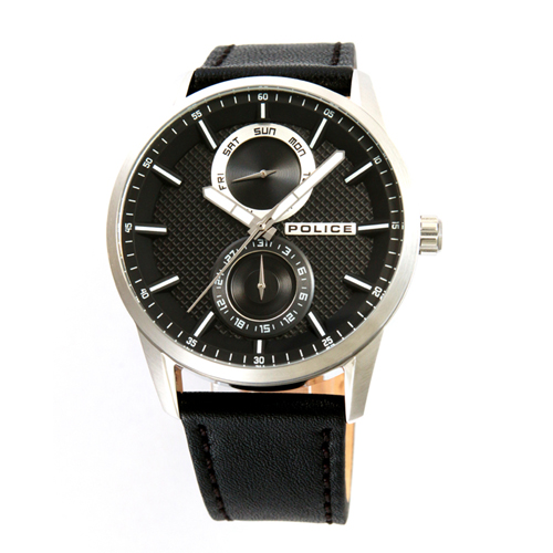 POLICE(ポリス)時計 BRANSON  ブラック【15534JS-02】
